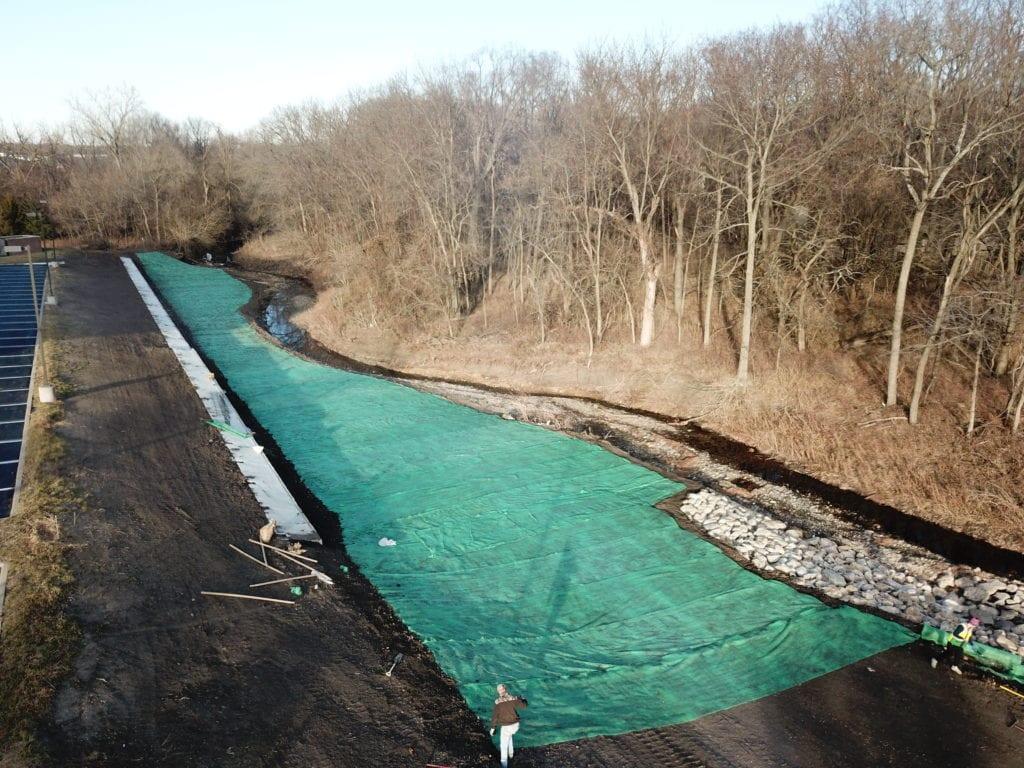 Indian Creek Olathe Streamway Restoration