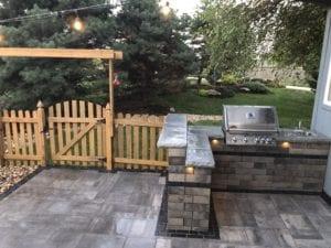 outdoor hardscape kitchen olathe